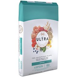 Nutro Ultra Senior Dry Dog Food With A Trio Of Proteins From Chicken, Lamb And Salmon, 15 Lb. Bag