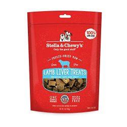 Stella & Chewy's Freeze-Dried Raw Lamb Liver Treats, 3 oz bag
