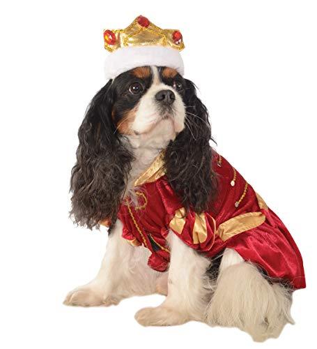 Rubie's Pet Costume, Medium, Red King