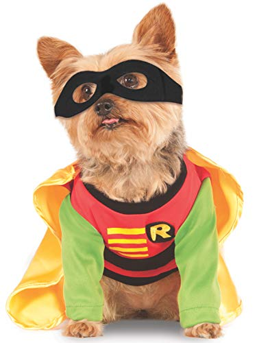 DC Comics Teen Titans Pet Costume, Medium, Robin