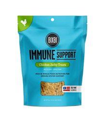 Bixbi Immune Support Dog Jerky Treats, Chicken, 5 Ounce