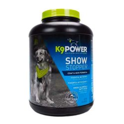 K9-Power Show Stopper – Healthy Dog Coat and Skin Formula to Improve Health and Appearance – 8 Pound