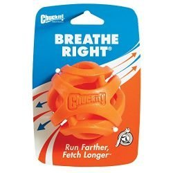 ChuckIt! Durable Breathe Right Ball Dog Toy, Medium