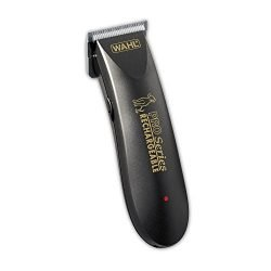 Wahl Deluxe Pro Series Rechargeable Cordless Dog Clippers, Low Noise/Quiet Dog Grooming Kits for Pet Hair Cut for Small/Large Dogs, Thick Coats, Cats, Heavy Duty, The Brand Used By Professionals. #9591-100