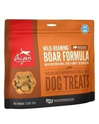 ORIJEN Freeze-Dried Dog Treats, Wild-Roaming Boar, Biologically Appropriate & Grain Free
