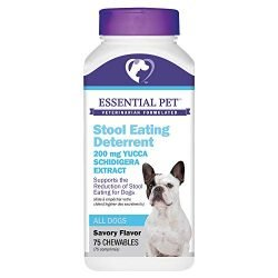 Stool Eating Deterrent with Yucca Schidigera Extract for Dogs