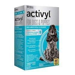 Activyl Medium Dogs & Puppies 23-44lbs, 3-pack