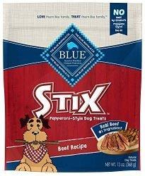 Blue Buffalo Stix Natural Soft-Moist Dog Treats, Beef Recipe 13-oz bag