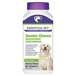 Senior Chews Complete Daily Multi-Vitamin and Mineral Supplement for Dogs