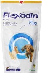 VETOQUINOL Flexadin Plus Chews for Cats & Small Dogs 12.69 oz (360 g) 90 Chews
