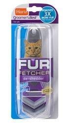 Hartz Groomer's Best Fur Fetcher De-Shedder Cat Brush