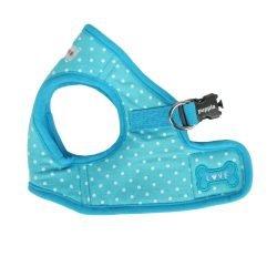 Puppia Dotty Harness B, Small, Sky Blue