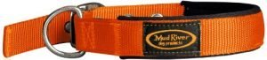 Mudriver Swagger Dog Collar Orange, Large
