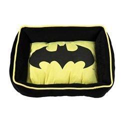 DC Comics Batman Cuddler Bed   Superhero Dog Bed   Pet Bed Measures 19″ x 15″
